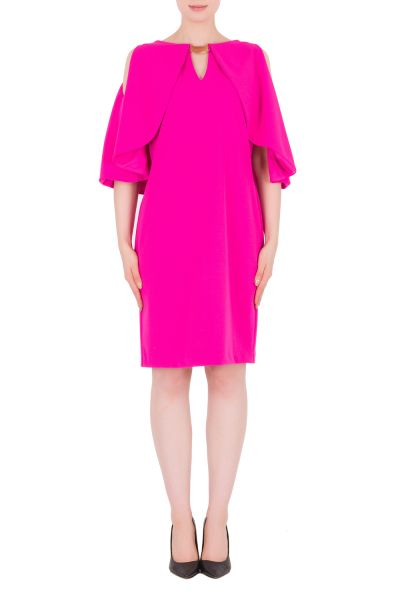 Joseph Ribkoff Neon Pink Dress Style 171418