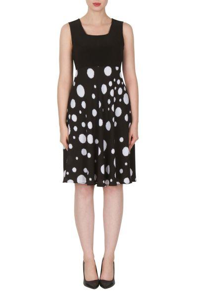 Joseph Ribkoff Black/White Dress Style 171621