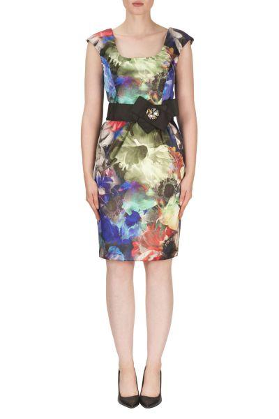 Joseph Ribkoff Blue/Multi Dress Style 171638