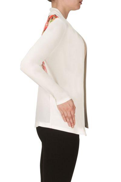 Joseph Ribkoff Vanilla/Pink/Green Twin Set Jacket Style 171666