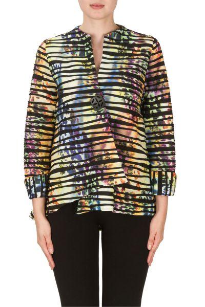 Joseph Ribkoff Purple/Multi Jacket Style 171690