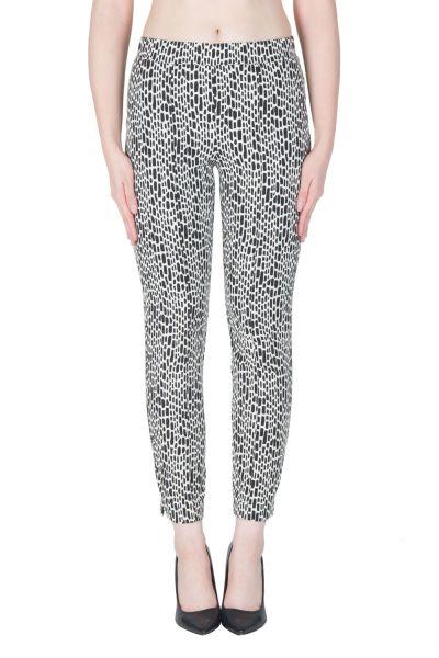 Joseph Ribkoff Black/Off-White Pant Style 171845