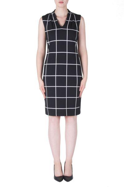 Joseph Ribkoff Black/White Dress Style 171853