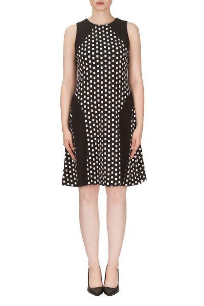 Joseph Ribkoff Black/White Dress Style 171872