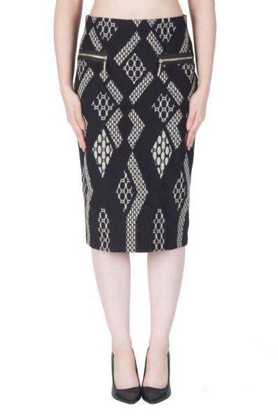 Joseph Ribkoff Black/Sand Skirt Style 171897