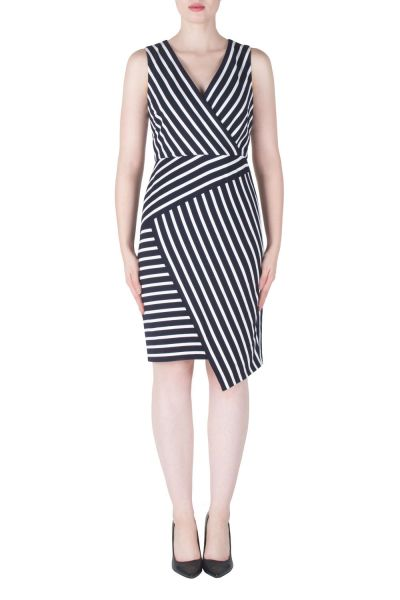 Joseph Ribkoff Navy/White Dress Style 171900