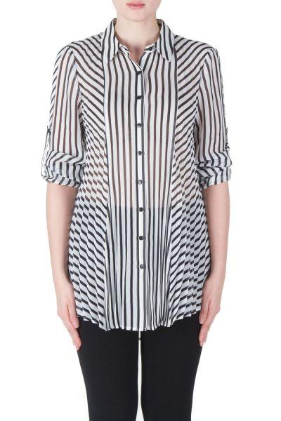 Joseph Ribkoff Black/White Blouse Style 171994