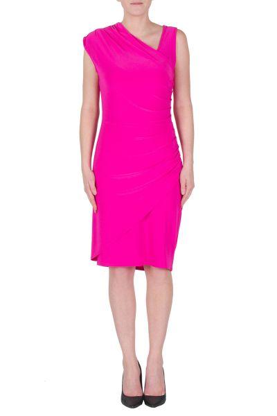 Joseph Ribkoff Electric Pink Dress Style 172014