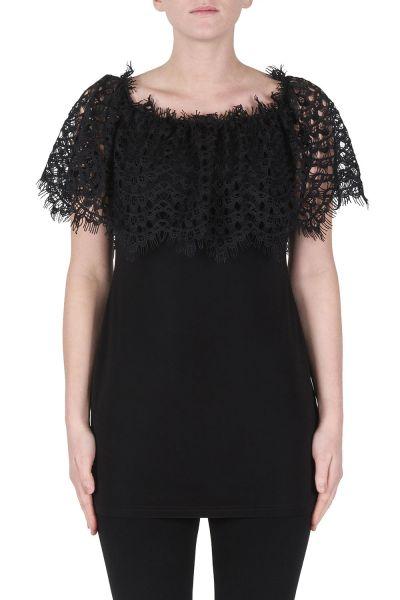 Joseph Ribkoff Black Tunic Style 172068