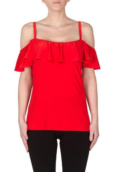 Joseph Ribkoff Red Top Style 172125