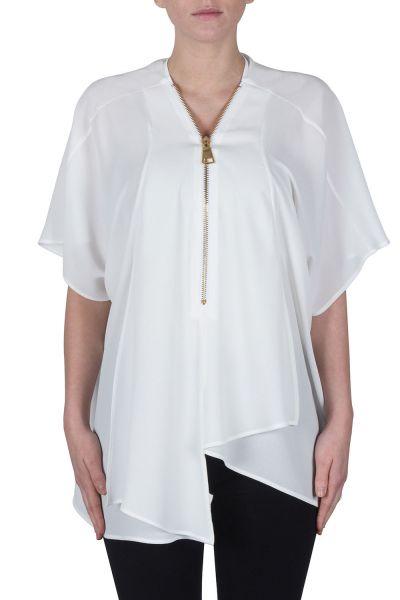 Joseph Ribkoff White Tunic Style 172250