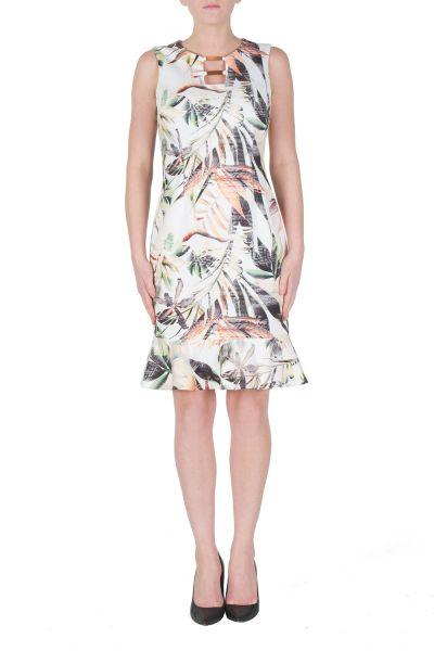 Joseph Ribkoff Off-White/Multi Dress Style 172721