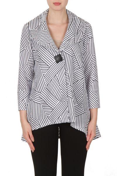 Joseph Ribkoff Black/White Jacket Style 172828
