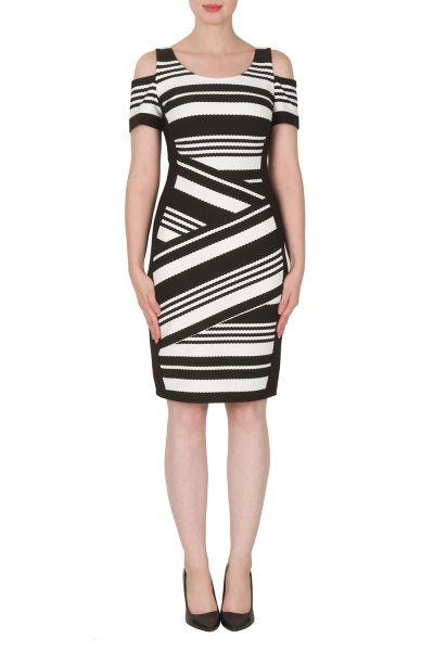 Joseph Ribkoff Black/White Dress Style 172853