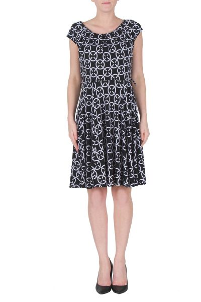 Joseph Ribkoff Black/White Dress Style 172865