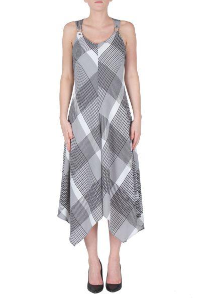 Joseph Ribkoff Black/White Dress Style 172904