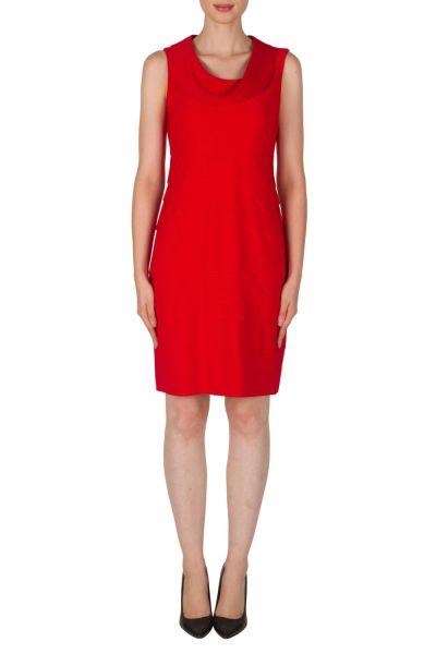 Joseph Ribkoff Red Dress Style 173023