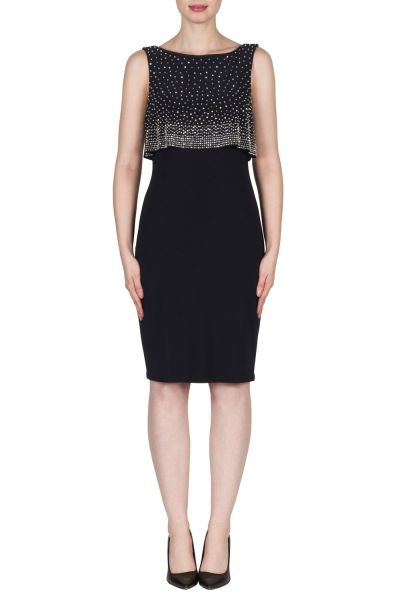 Joseph Ribkoff Midnight Blue Dress Style 173026