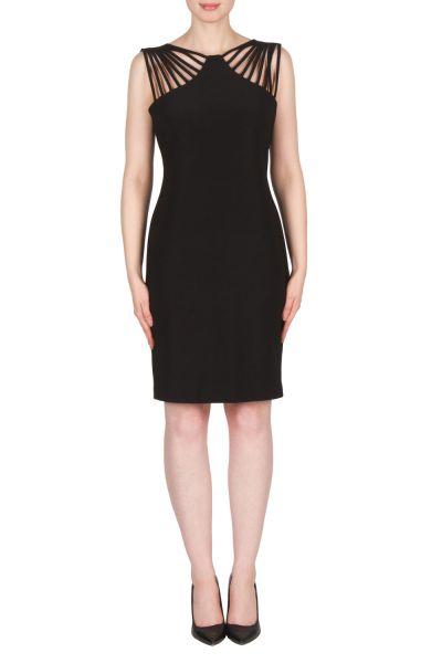 Joseph Ribkoff Black Dress Style 173028