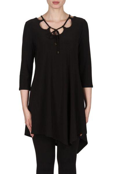 Joseph Ribkoff Black Tunic Style 173073