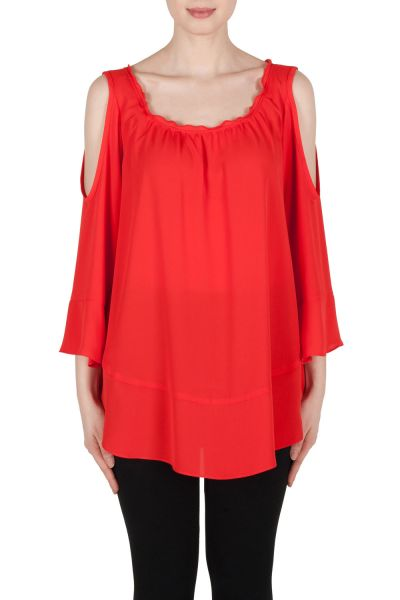 Joseph Ribkoff Red Tunic Style 173292