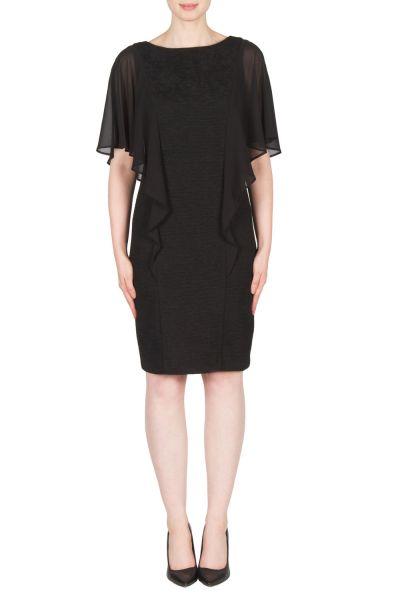 Joseph Ribkoff Black Dress Style 173440