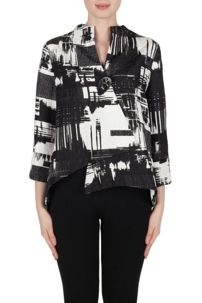 Joseph Ribkoff Jacket Black/White Style 173820
