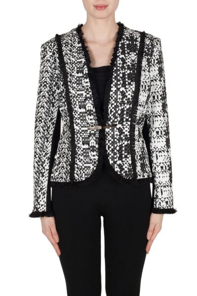 Joseph Ribkoff Black/White Jacket Style 173887