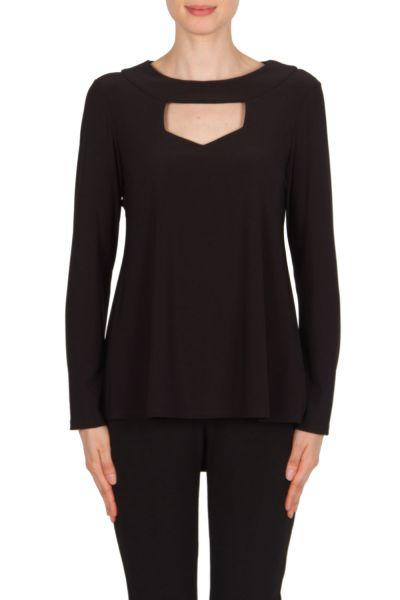Joseph Ribkoff Black Tunic Style 174067