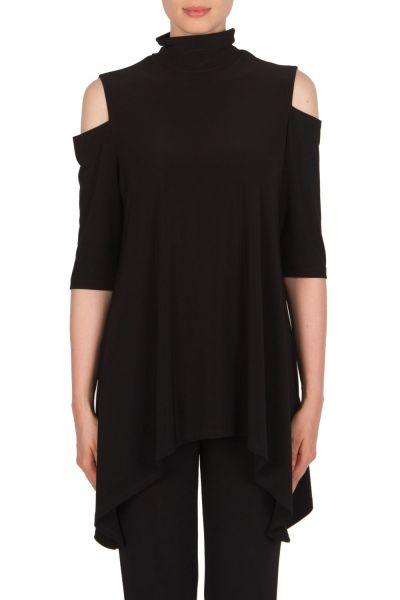 Joseph Ribkoff Black Tunic Style 174068