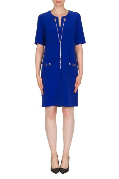 Joseph Ribkoff Royal Sapphire Dress Style 174302