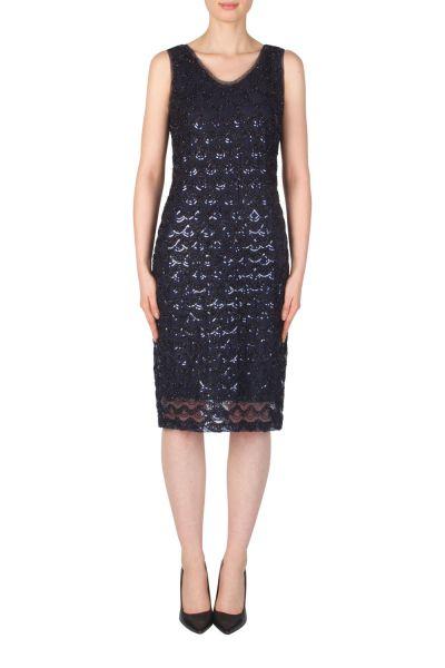 Joseph Ribkoff Navy Dress Style 174596