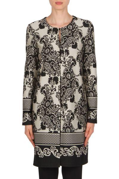 Joseph Ribkoff Black/Beige Jacket Style 174728