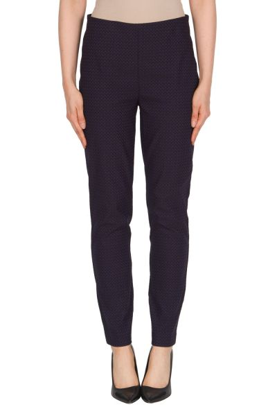Joseph Ribkoff Blue/Black Pant Style 174780