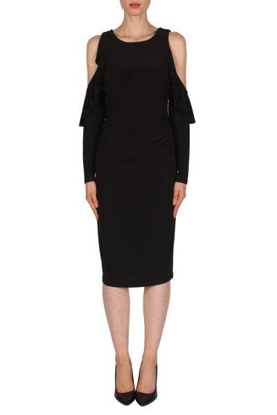 Joseph Ribkoff Black Dress Style 181007