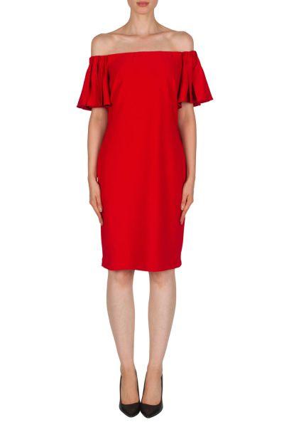 Joseph Ribkoff Red Dress Style 181029