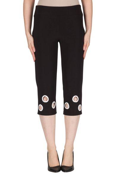 Joseph Ribkoff Black/Vanilla Pant Style 181082