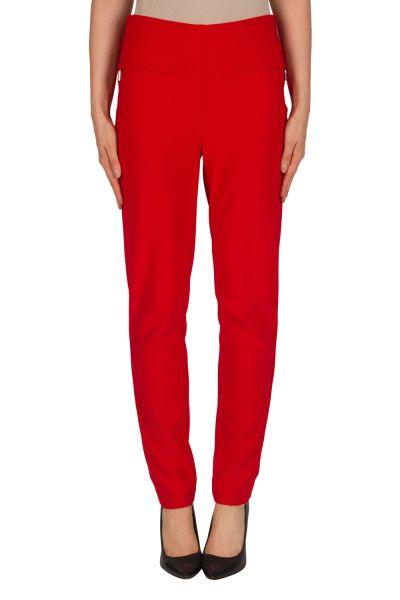 Joseph Ribkoff Red Pant Style 181095