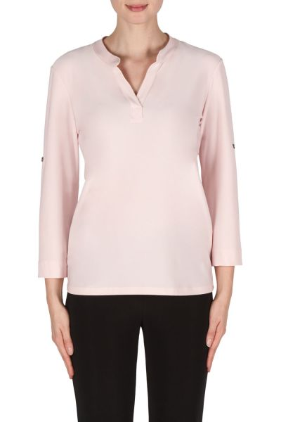 Joseph Ribkoff Powder Pink Top Style 181124