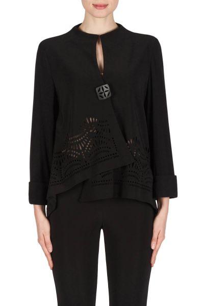 Joseph Ribkoff Black Jacket Style 181136