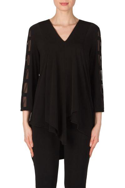Joseph Ribkoff Black Tunic Style 181181