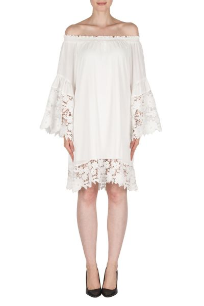Joseph Ribkoff Off-White Dress Style 181242