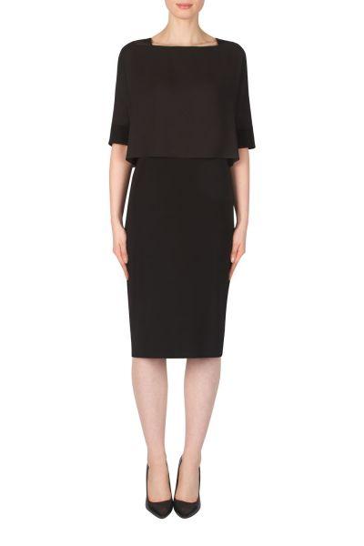 Joseph Ribkoff Black Dress Style 181256