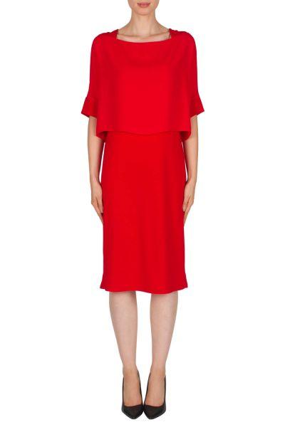 Joseph Ribkoff Red Dress Style 181256