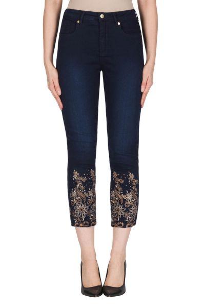 Joseph Ribkoff Blue Denim Wash Pant Style 181959