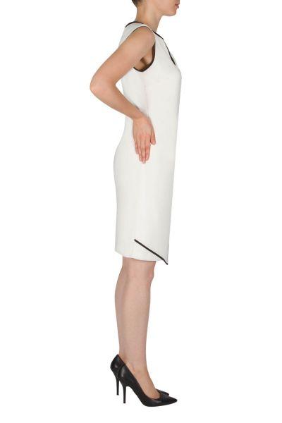 Joseph Ribkoff Vanilla/Black Dress Style 182011