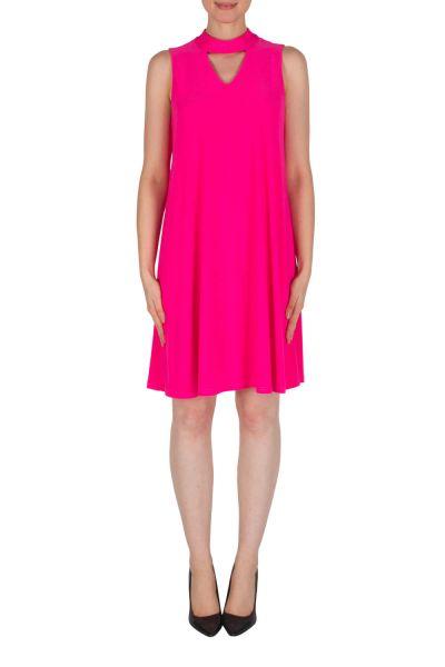 Joseph Ribkoff Neon Pink Dress Style 182029