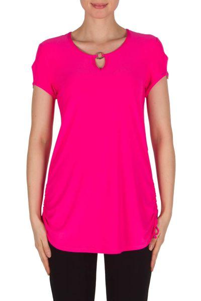 Joseph Ribkoff Neon Pink Tunic Style 182200