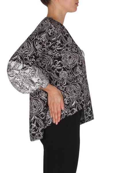 Joseph Ribkoff Black/White Jacket Style 182525