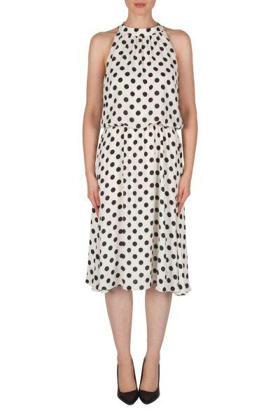 Joseph Ribkoff Vanilla/Black Dress Style 182770